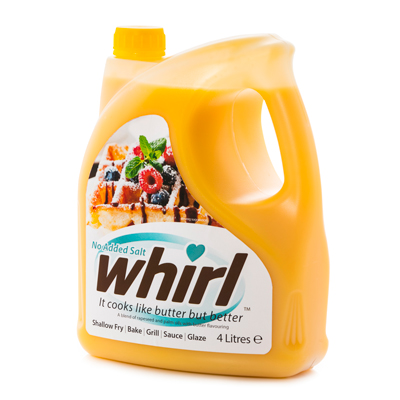 Whirl 4 Litre - No Added Salt