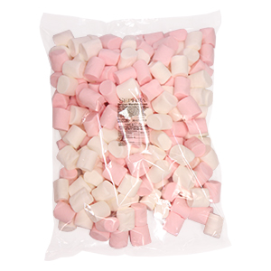 Sephra Pink and White Marshmallows 1Kg Bag