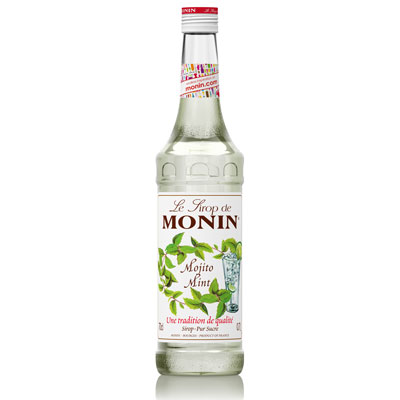 Monin Syrup - Mint (Mojito) 70cl Glass