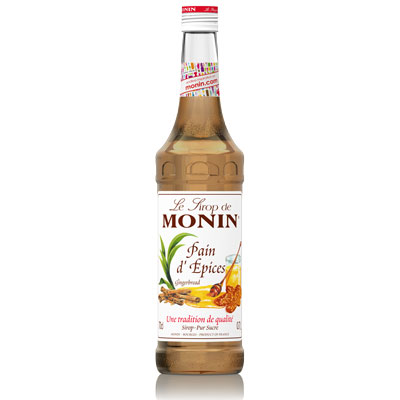 Monin Syrup - Gingerbread 70cl Glass