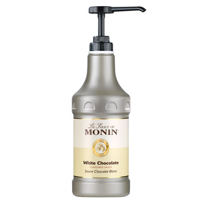 Monin Gourmet Sauce - White Chocolate 1.89Ltr