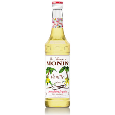 Monin Syrup - Vanilla 70cl Glass