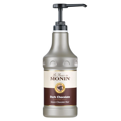 Monin Gourmet Sauce - Dark Chocolate 1.89Ltr