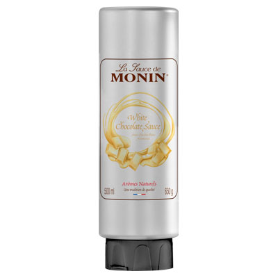 Monin Gourmet Sauce - White Chocolate 500ml