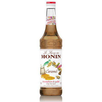 Monin Syrup - Caramel 70cl Glass