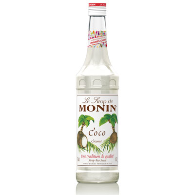Monin Syrup - Coconut 70cl Glass