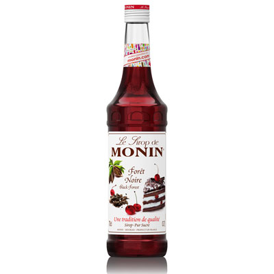 Monin Syrup - Black Forest 70cl Glass