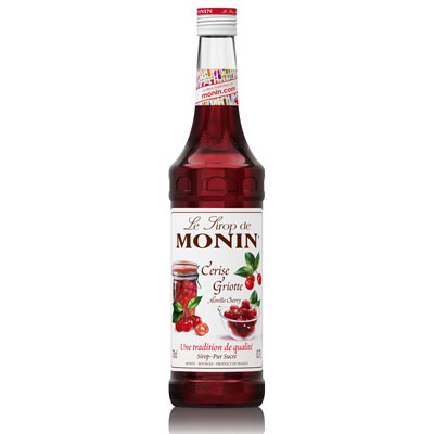 Monin Syrup - Cherry (Morello) 70cl Glass