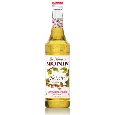 Monin Syrup - Hazelnut 70cl Glass