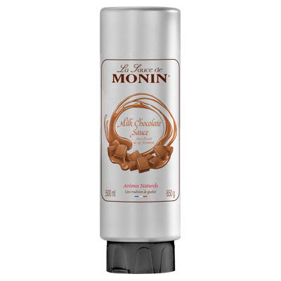 Monin Gourmet Sauce - Milk Chocolate 500ml