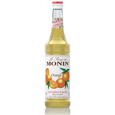 Monin Syrup - Orange 70cl Glass