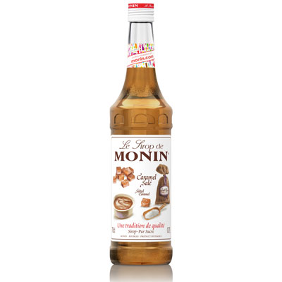 Monin Syrup - Salted Caramel 70cl Glass