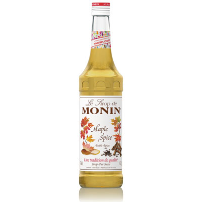 Monin Syrup - Maple Spice 70cl Glass