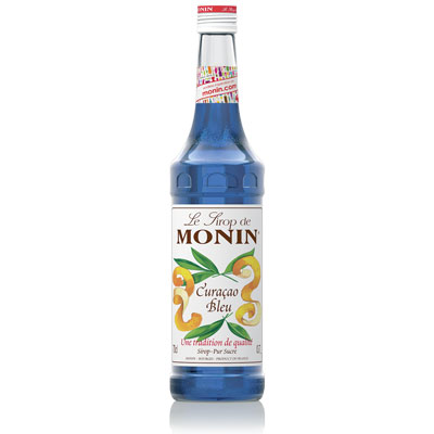 Monin Syrup - Blue Curacao 70cl Glass