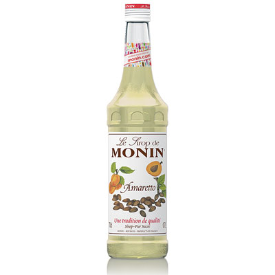 Monin Syrup - Amaretto 70cl Glass