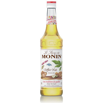 Monin Syrup - Toffee Nut 70cl Glass