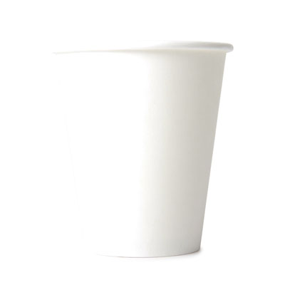 8oz Disposable Single Wall Cup  x 50 Pack