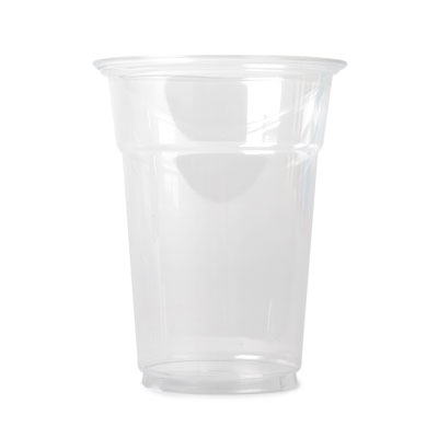 12oz Clear Disposable PET Cup x 50 Pack