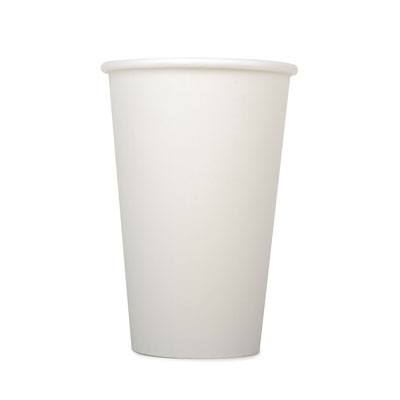 16oz Disposable Single Wall Cup x 50 Pack
