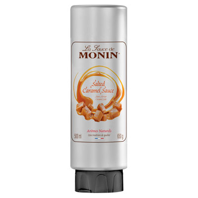 Monin Gourmet Sauce - Salted Caramel 500ml