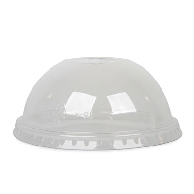 12oz PET Dome Lids x 100 Pack