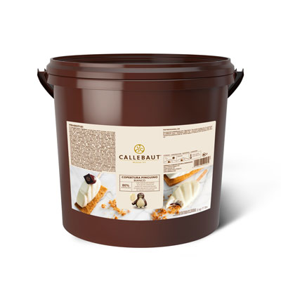 Callebaut Gelato Compound Coating - Pinguino Bianco (5kg)