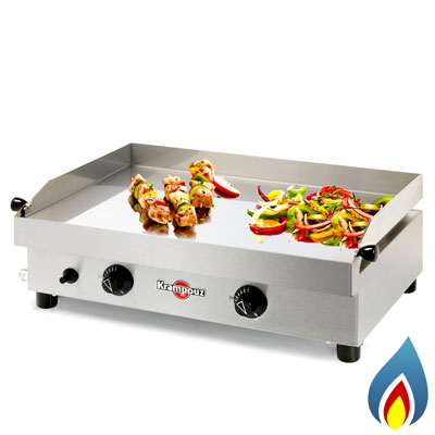 Krampouz Gas Barbecue Plancha - Samba