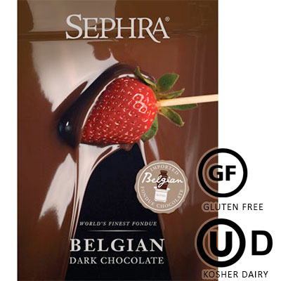 Sephra Dark Belgian Couverture Chocolate - 10Kg