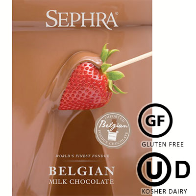 Sephra Milk Belgian Couverture Chocolate - 10Kg