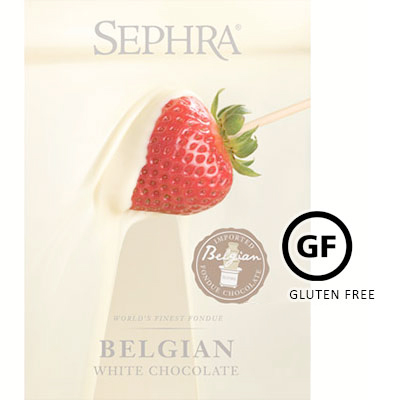 Sephra White Belgian Couverture Chocolate - 10Kg