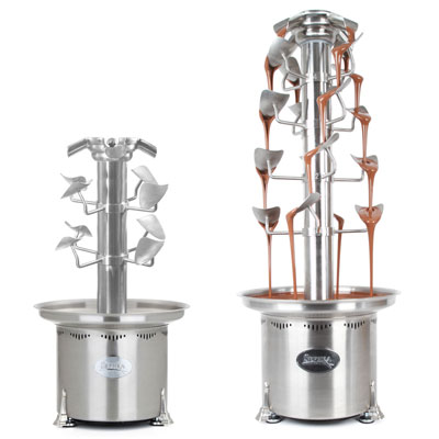 Sephra CF34/44RC Cascade Convertible Chocolate Fountain