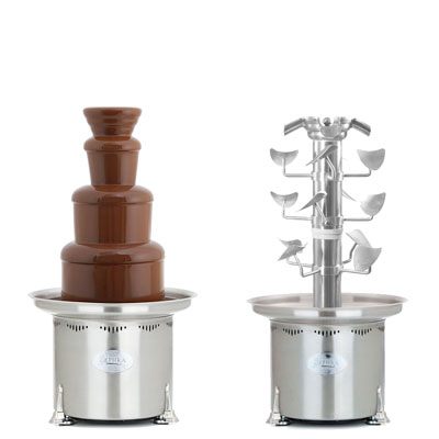 Sephra CF34/44RC Four in One Cascade Chocolate Fountain