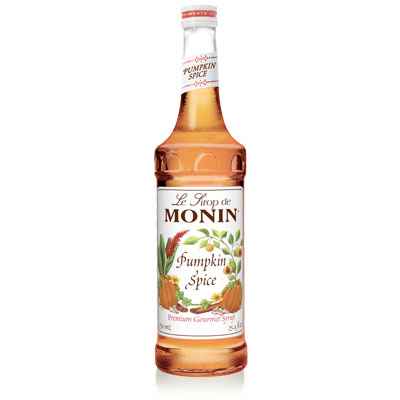 Monin Syrup - Pumpkin Spice 70cl Glass