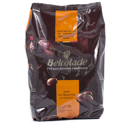 Belcolade Milk Chocolate Grains - 5kg