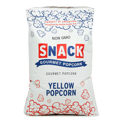 Popcorn - 25kg Bag of Popcorn Kernels