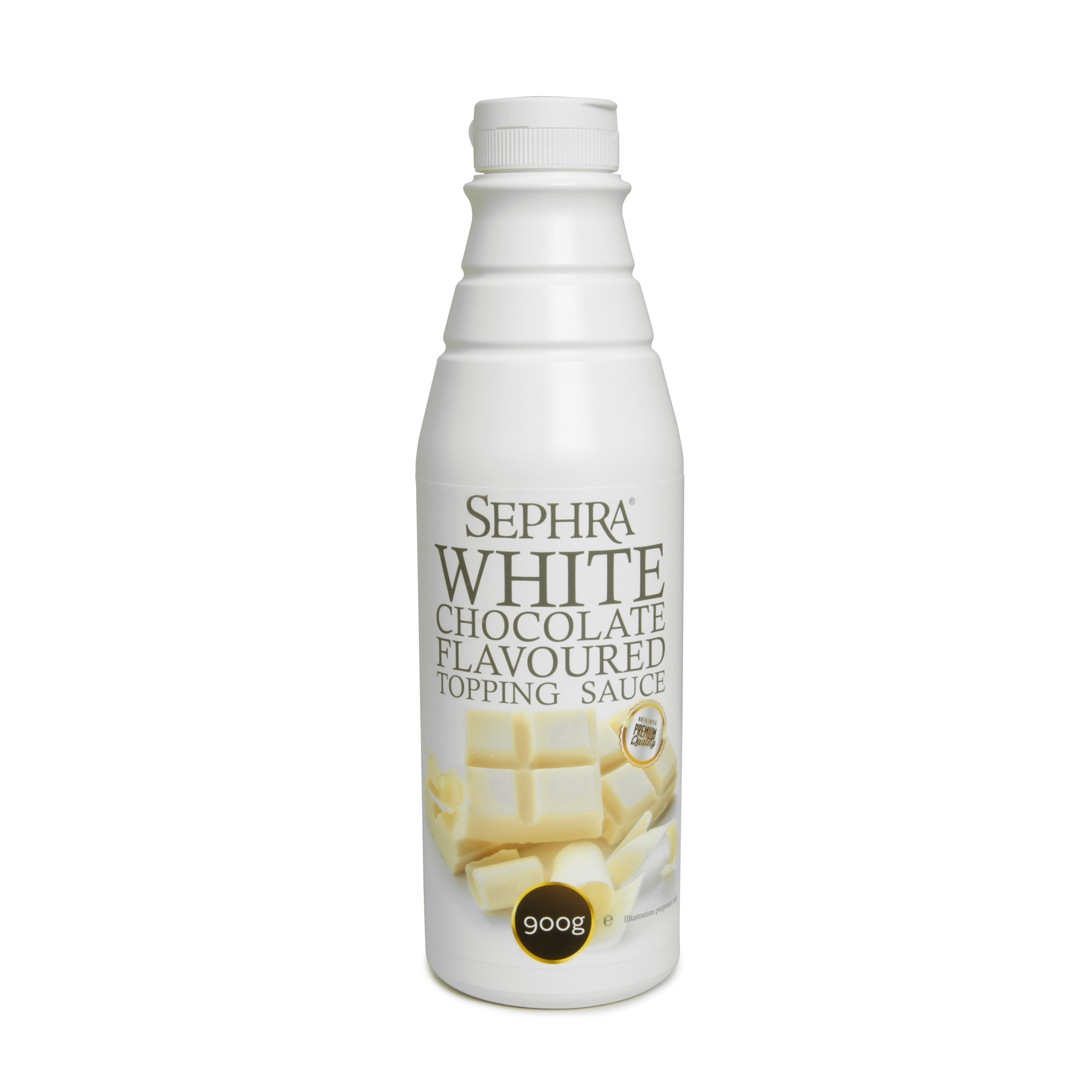 Sephra White Chocolate Topping Sauce 900g
