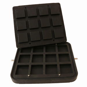 Cook-Matic Plates - Square Brick (Vertical Sides)