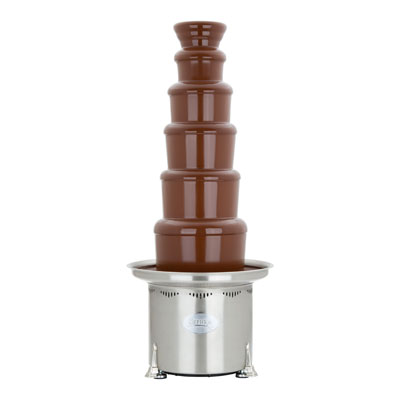 Sephra CF44RC Highly Polished Convertible Chocolate Fountain