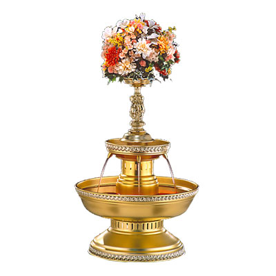 BFA19-76G Gold Beverage Fountain