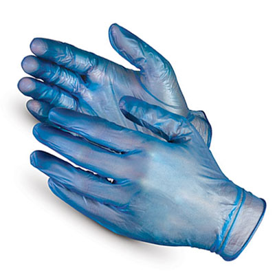 Disposable Blue Catering Gloves-100 Large