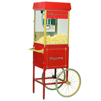 Gold Medal 2408CRT 8oz Popcorn Machine Including Cart