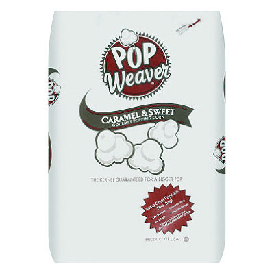 50lb Bag Pop Weaver Popcorn Kernels
