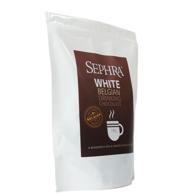 Sephra Belgian White Hot Drinking Chocolate 1kg