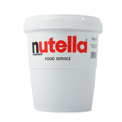 Nutella® Chocolate Spread 3kg Catering Tub
