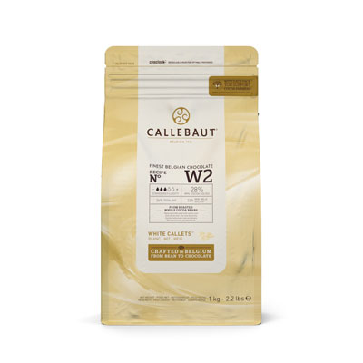 Callebaut White Chocolate Callets - 1kg