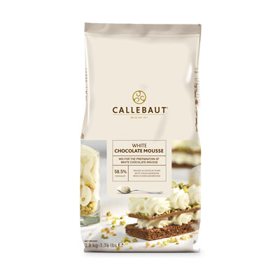 Callebaut White Chocolate Mousse Powder - 800g