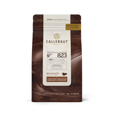 Callebaut Milk Chocolate Callets - 1kg