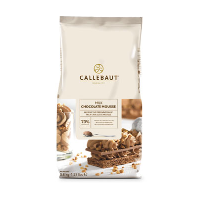 Callebaut Milk Chocolate Mousse Powder - 800g