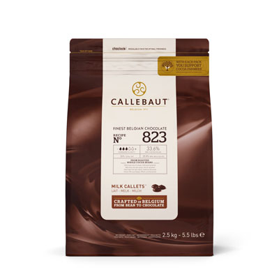 Callebaut Milk Chocolate Callets - 2.5kg