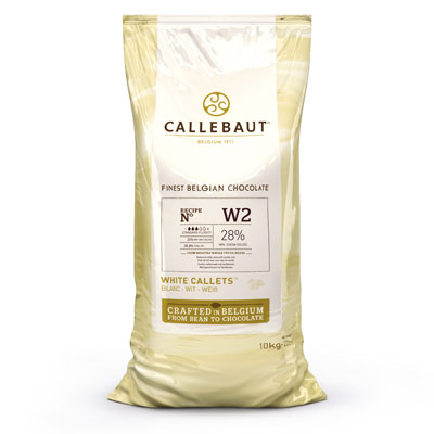 Callebaut White Chocolate Callets - 10kg